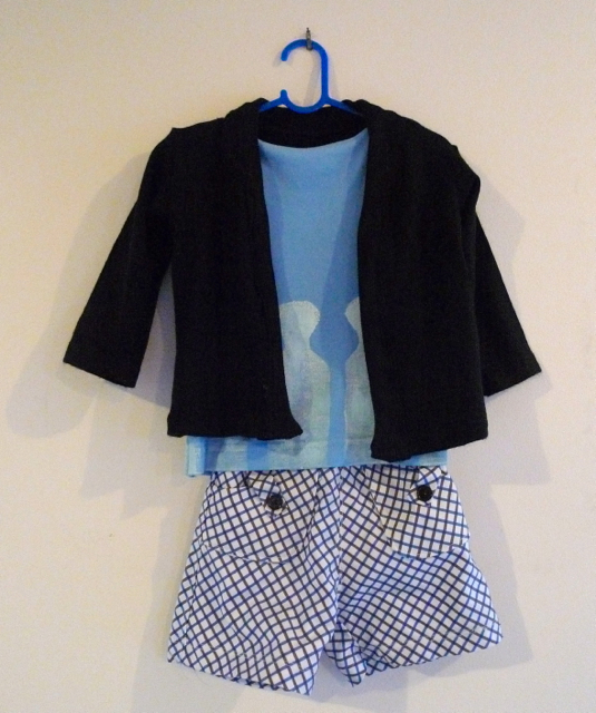 Donaldson Dairy Shirt Shorts and Cardigan12